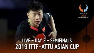 2019 ITTF Asian Cup | Day 2 Sessions 2