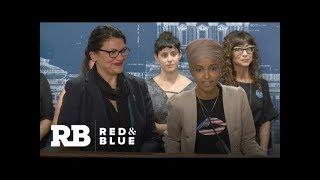 Reps. Rashida Tlaib and Ilhan Omar address Israel travel controversy