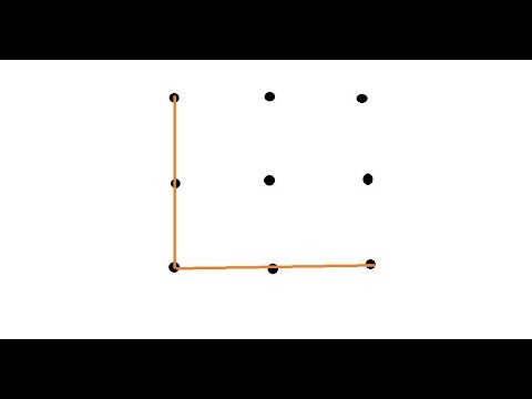 Number Names Worksheets connect the dots in 4 lines : how to connect 9 dots in 4 stright line - YouTube