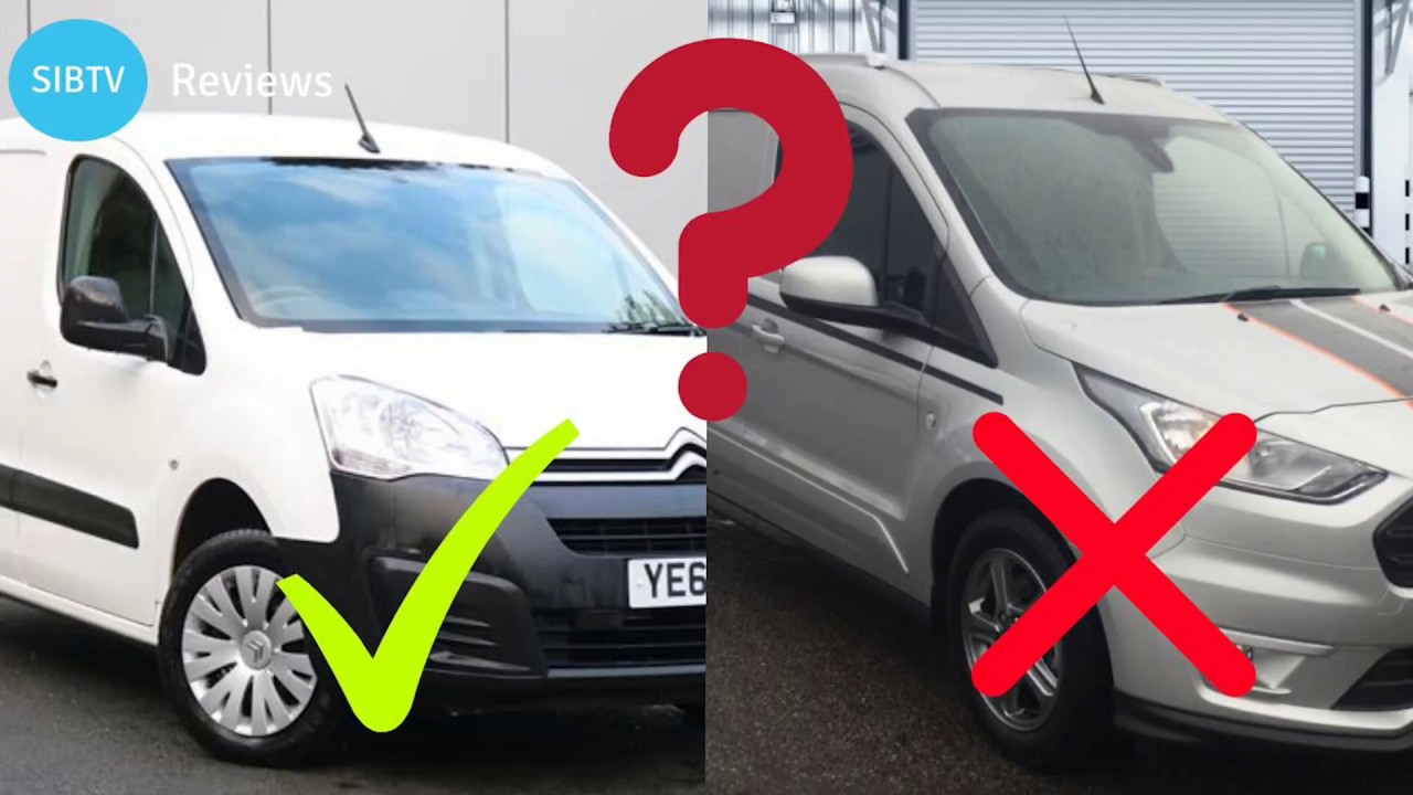 Ford Transit Connect Or Citroen Berlingo Which Is Better Van Comparison Review Youtube