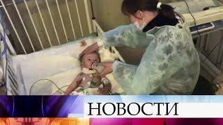 Спасатели навестили в больнице Ваню Фокина, которого вызволили из-под завалов дома в Магнитогорске.