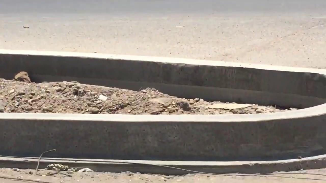 استدارة قيد الانشاء قد تؤدي الى كوارث || من تقاطع اللقاء الطريق السريع باتجاه العدل الغزالية