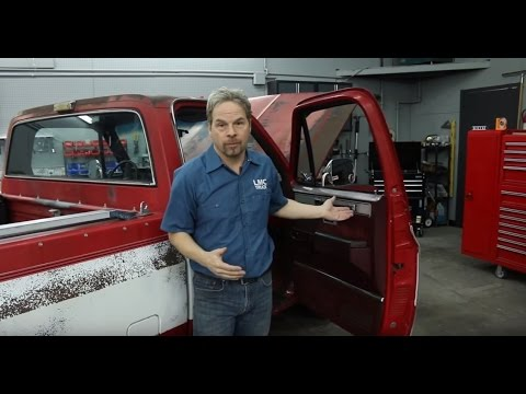 How To Rebuild Internal Door Components For 1981-1987 GM Trucks - Kevin Tetz With LMC Truck