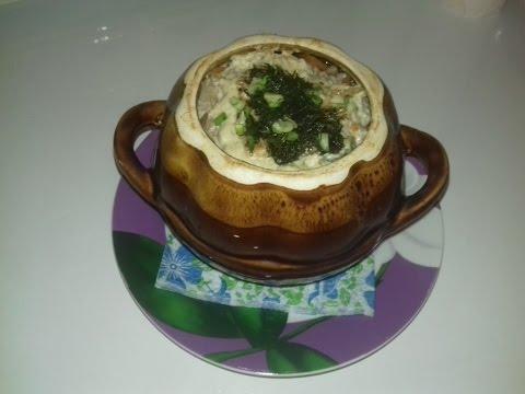 жаркое в горшочках со свининой и грибами в духовке рецепт пошагово