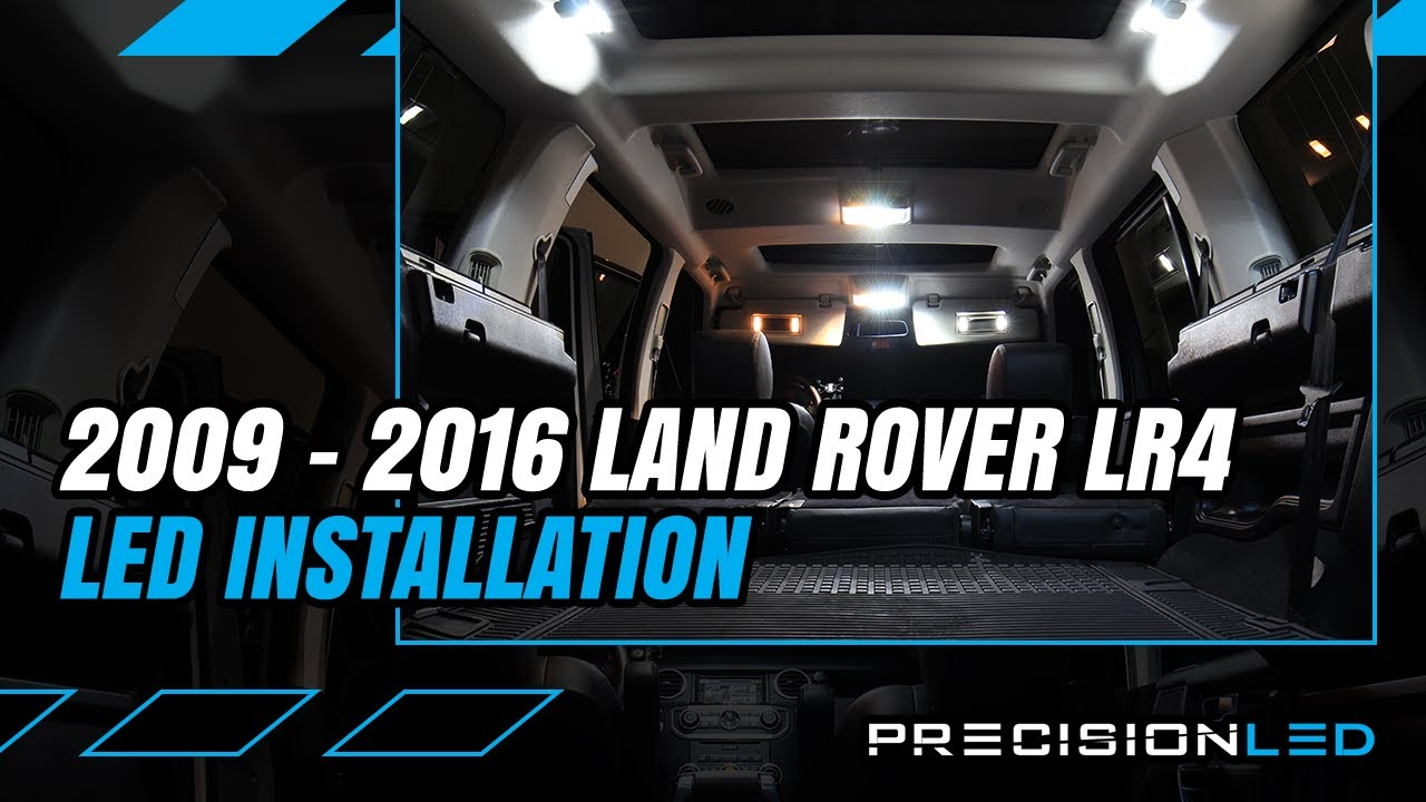 Land Rover Lr4 Led Interior How To Install 2nd Gen 2009 2016