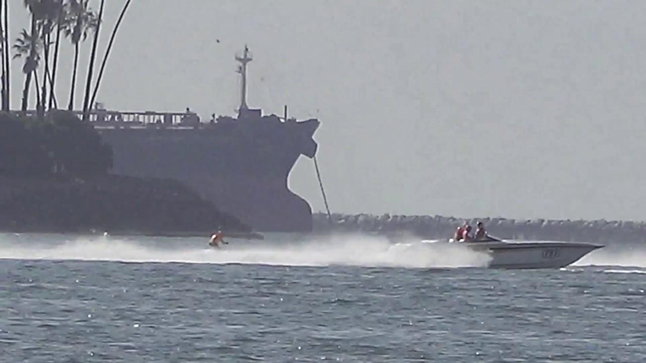 Catalina Water Ski Race 18 Start Youtube