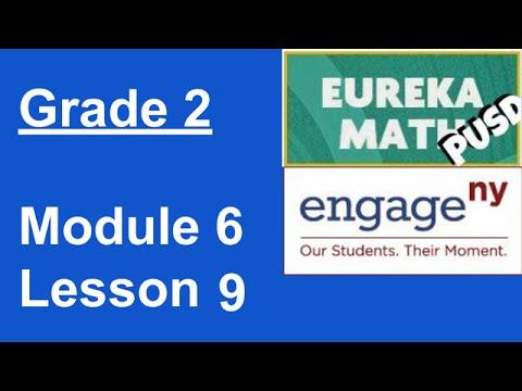 Eureka Math Grade 2 Module 6 Lesson 9