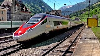 Video SBB Gotthardbahn/Ferrovia del Gottardo: Amsteg, Gurtnellen Juni 2015 download MP3, 3GP, MP4, WEBM, AVI, FLV Juli 2018