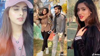 Jannat Mirza and Alishba Anjum new    Latest tiktok video's