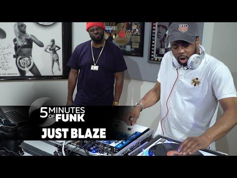 Just Blaze | #5MinutesofFunk004 | #TurnTableTuesday97