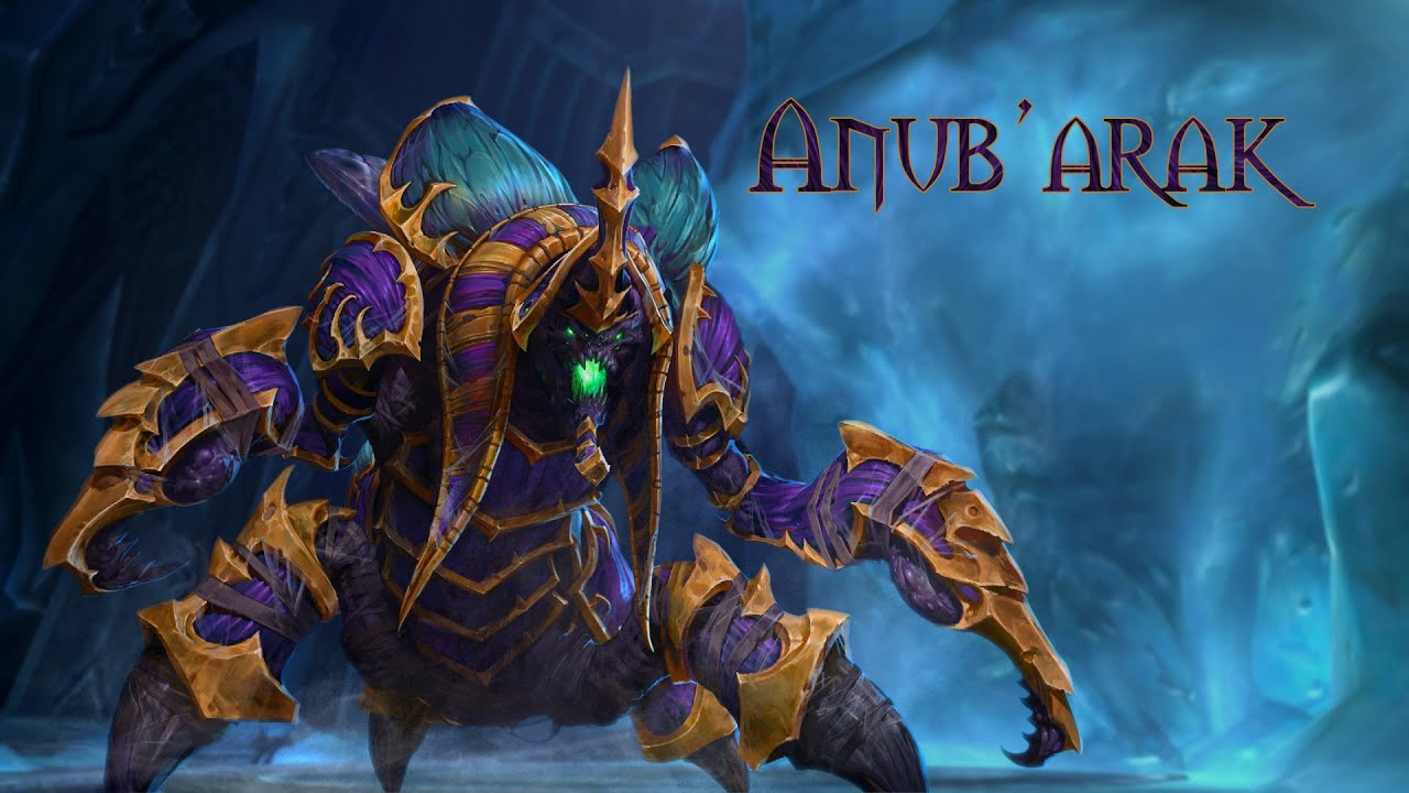 Anub'arak Build & Guide - Heroes of the Storm | hotslogs.com