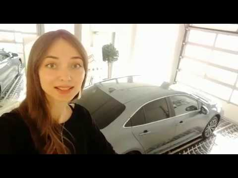 Анастасия Вяткина о новой Toyota Corolla