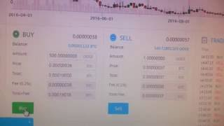 How to Trade BITCOIN in Yobit ( Trading Site )