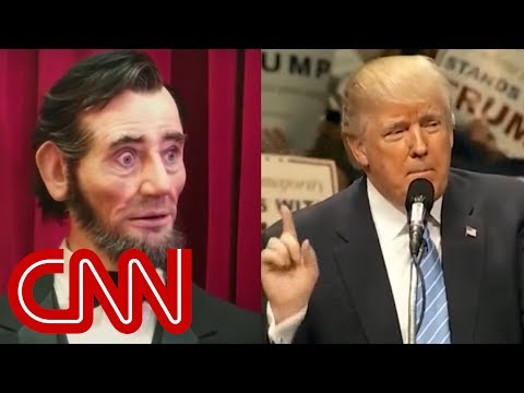 Trump compares himself to Abe Lincoln. He's dead wrong