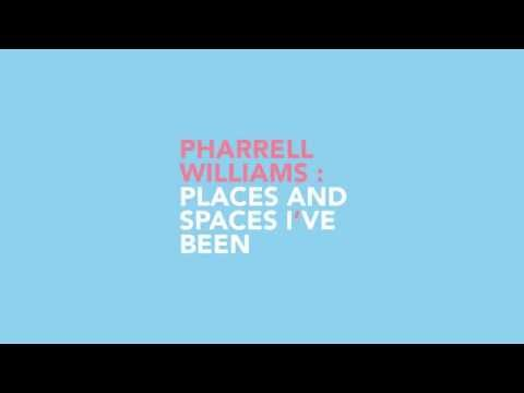 Titelsequentie Pharrell Williams: Places and Spaces i
