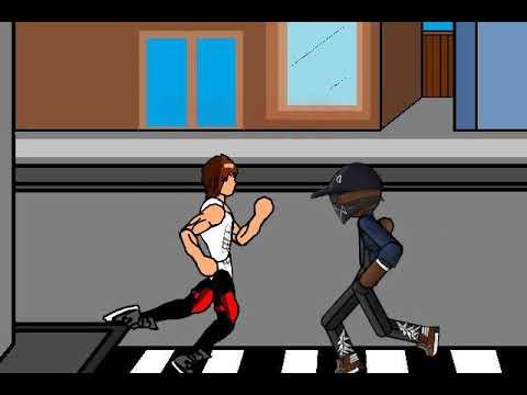 Street Fight Animation | Street Guy Vs Gangsta