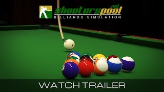 ShootersPool Billiards Simulation - Official Trailer