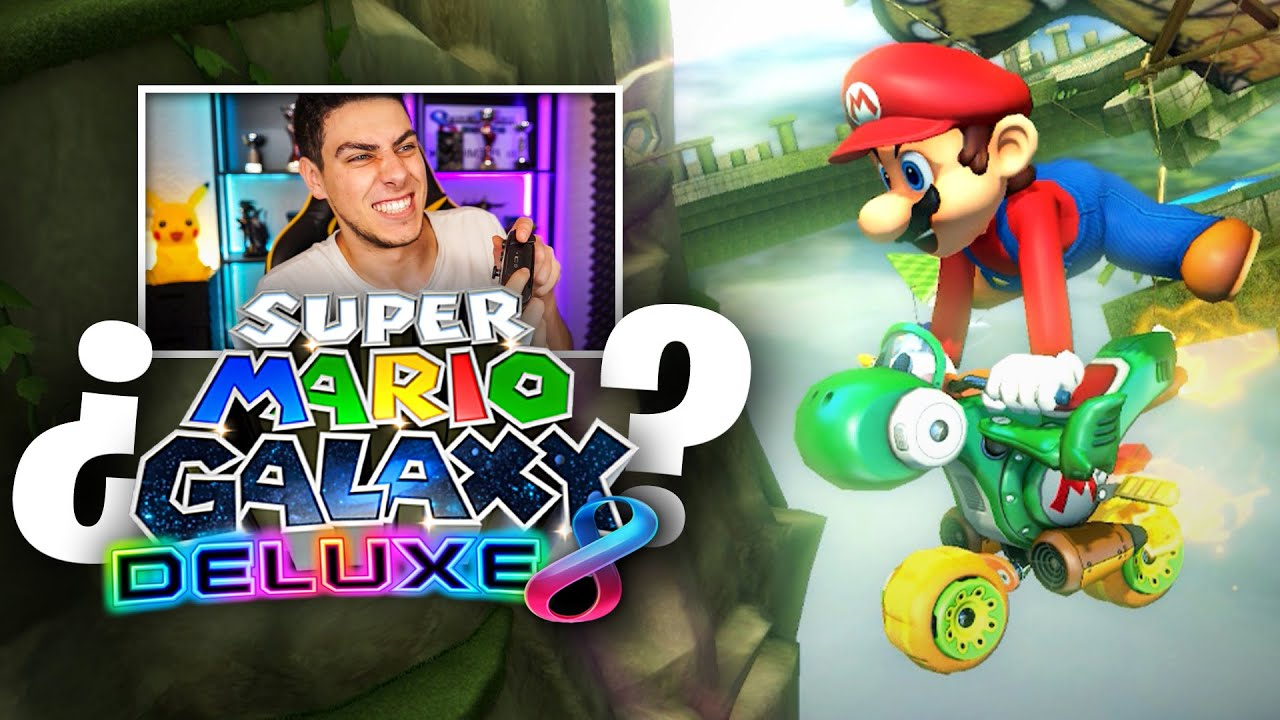 SUPER MARIO GALAXY en MARIO KART 8 Deluxe 🤩 | Nintendo Switch