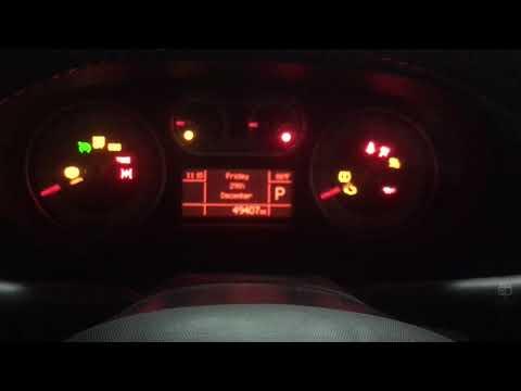 Fiat 500L Oil Light Reset (Change Engine Oil)