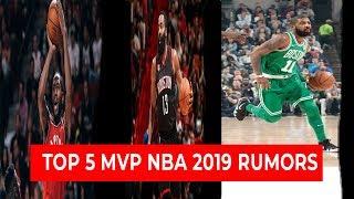 Gambar cover NBA TOP 5 MVP 2019 RUMORS