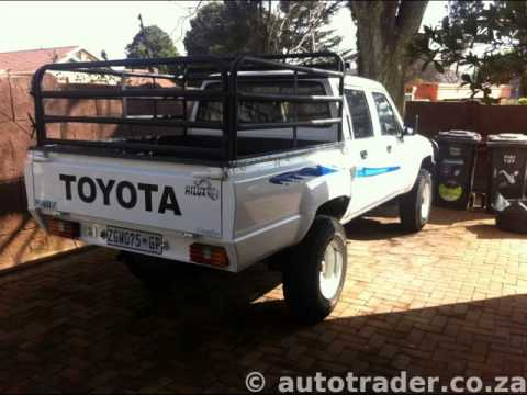 1988 TOYOTA HILUX 4×4 Auto For Sale On Auto Trader South Africa