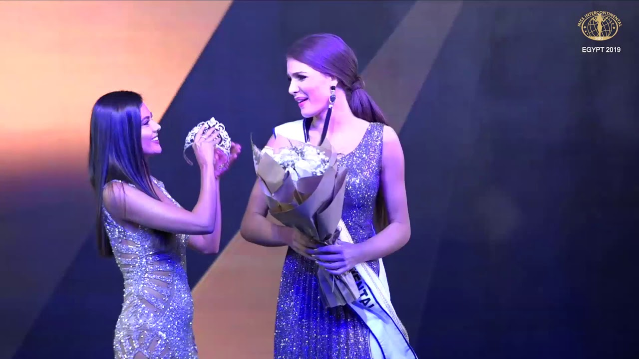 Miss Intercontinental 2019 Crowning Moment