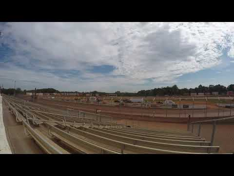Wally Eshenaur #5 practicing 305 sprint car at BAPS Motor Speedway on 9/8/19. - dirt track racing video image