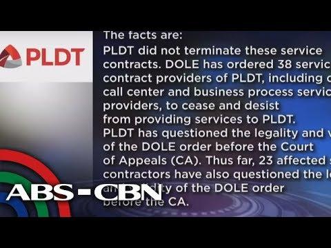 TV Patrol: PLDT customer service agents, umalma sa natapos na kontrata