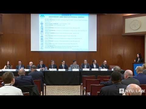 Antitrust and Institutional Issues: 2018 Next Generation Antitrust Conference Session 2