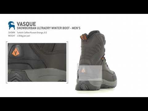 Vasque Snowburban Ultradry Winter Boot   Men's