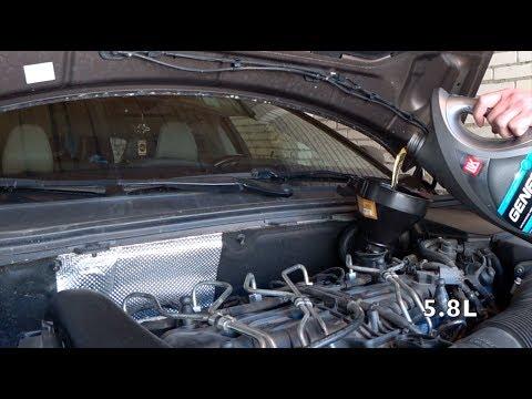 Oil change on Diesel Volvo 5cyl 2 4 D4 or D5