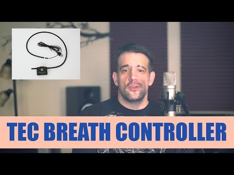 MIDI MOUTH - Playing with the TEC USB MIDI Breath And Bite Controller 2.