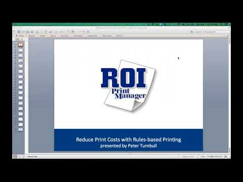 Reduce Print Costs with Rules based Printing