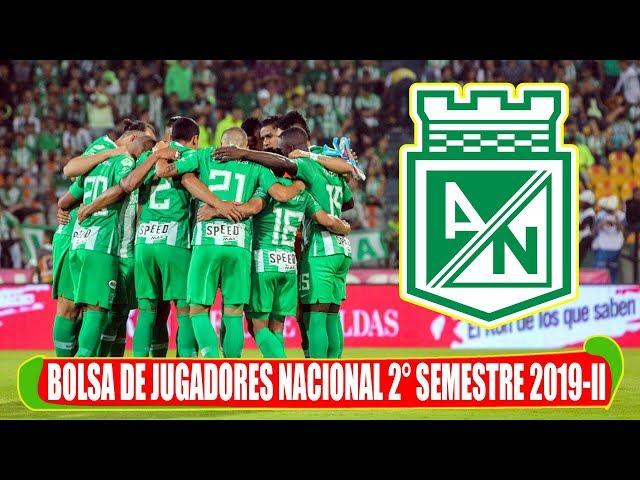 La Bolsa de jugadores en Atlético Nacional para el segundo semestre del 2019