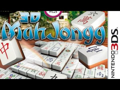 3D MahJongg Gameplay (Nintendo 3DS) [60 FPS] [1080p]