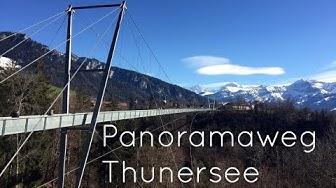 Panoramaweg Thunersee - Wanderwege der Schweiz #2