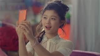 삼성 갤럭시 팝 오렌지 2013 광고