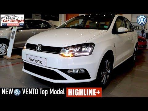 New Vento Highline Plus Top Model Detailed Walkaround On Road Price Vento Highline 2020 Youtube