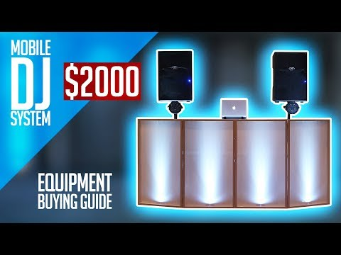 Complete Mobile DJ Setup For Under $2000 | Beginner DJ Equipment (Buying Guide)