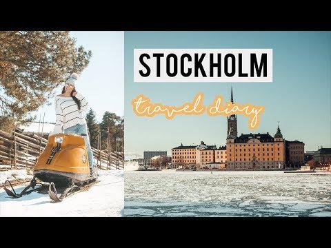 SWEDEN TRAVEL VLOG | Merrie Christopher