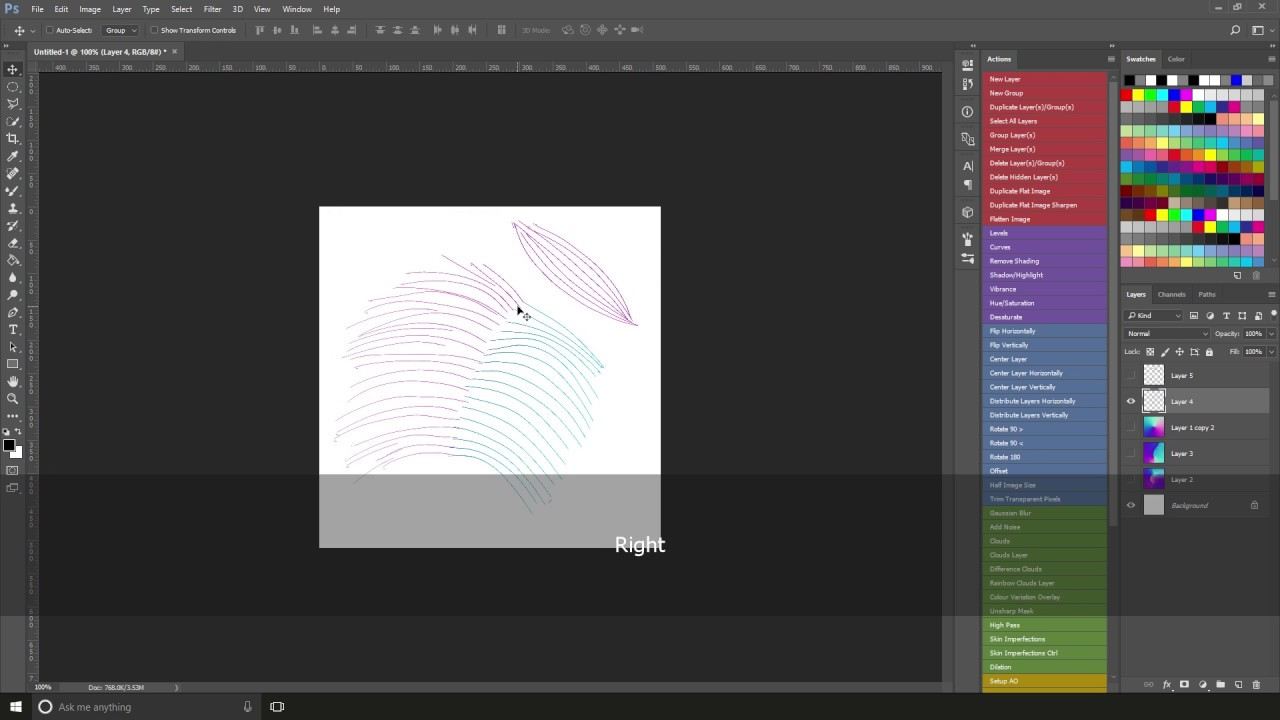 how to create flowmaps in photoshop youtube