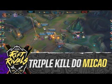 Triple kill do micaO!