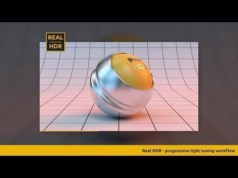 Real HDR - 光源をポチポチっと配置し32bit HDRファイルをサクッと作れ