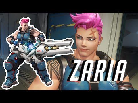 Bohaterowie Overwatch - Zaria