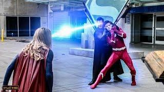 Супермен против Супермена в чёрном. Флэш и Стрела возвращают свои силы