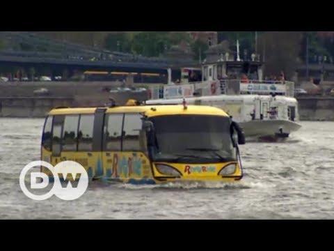Mit dem Amphibienbus durch Budapest | DW Deutsch