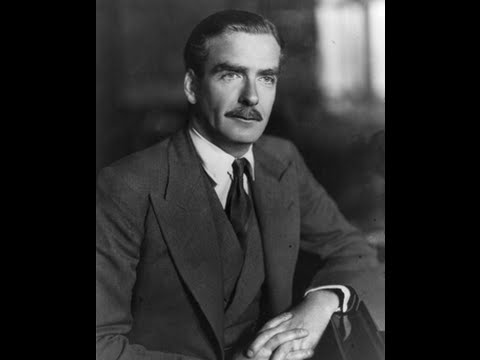 43rd Prime Minister Sir Anthony Eden (1955-1957)