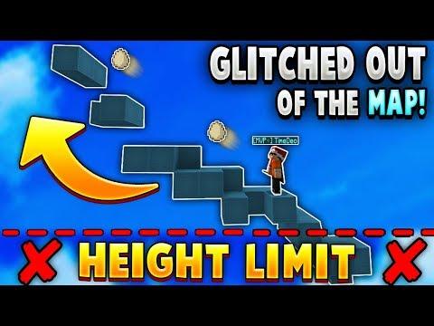 Bedwars Bridge Egg GLITCH allows us to ESCAPE the map!!