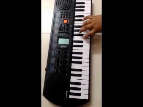 Dil dosti duniyadari title song on piano