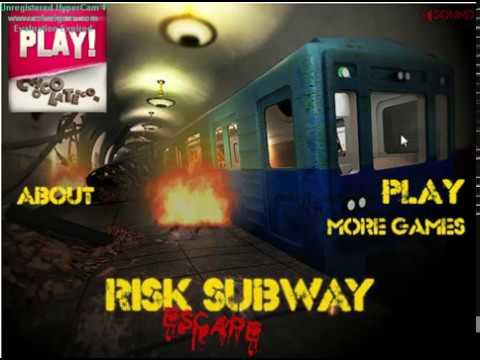 Прохождение Опасный побег из метро
